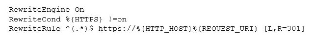 HTTPS htaccess file changes