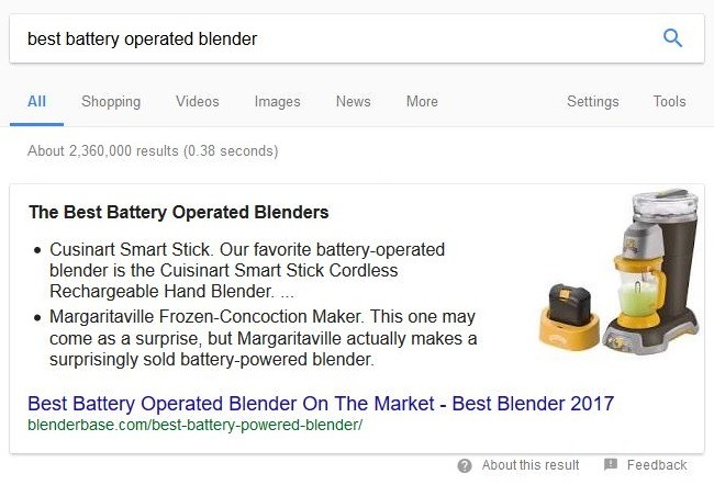 Earn the Google Featured Snippet With HTML Tweaks | Blog Pioneer