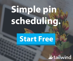 Pinterest with Tailwind blogging tool