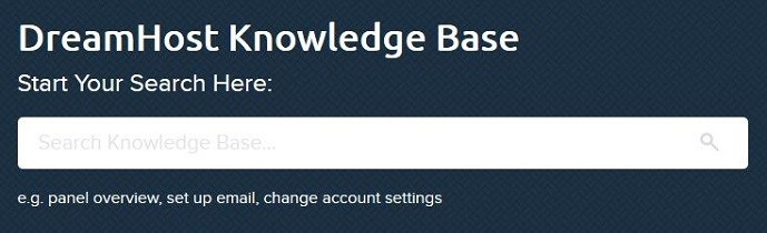 DreamHost Knowledge Base