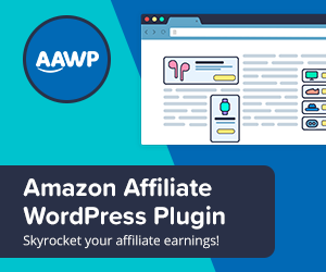 AAWP affiliate marketing plugin for WordPress