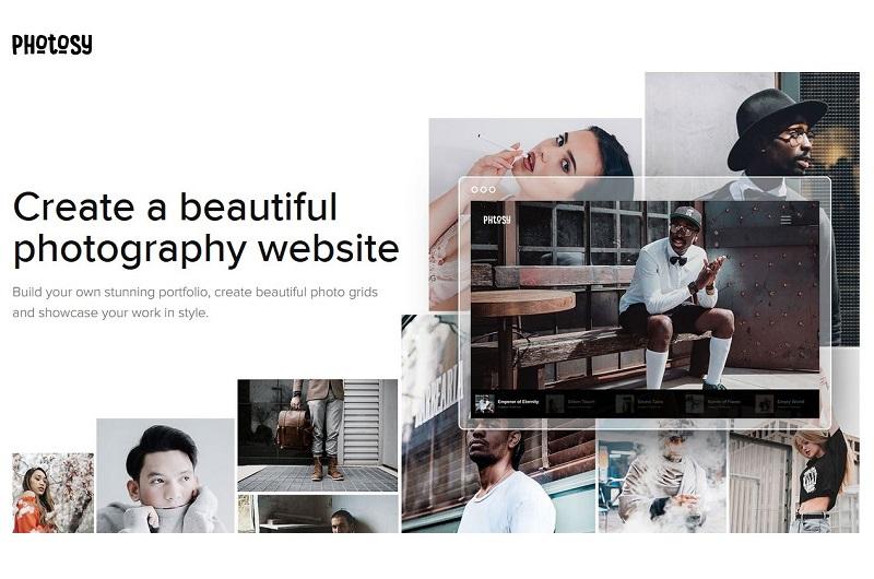 Photosy WordPress photography theme