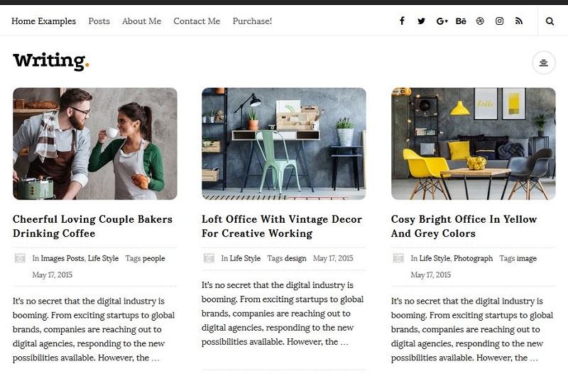 Writing WordPress theme