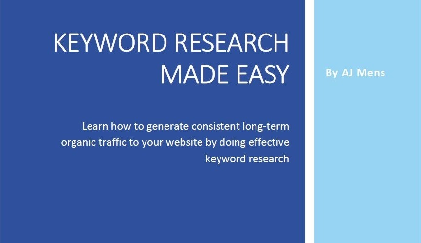 Keyword Research Made Easy ebook