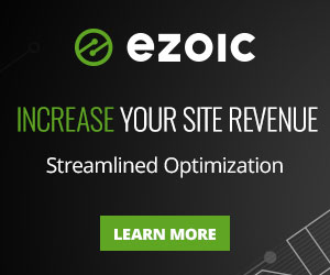 Blog Pioneer recommends Ezoic