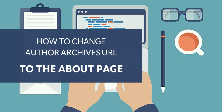 How to change author archives URL to about page