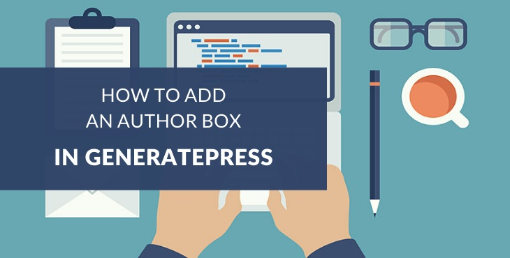 How to add an author box in GeneratePress