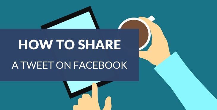 How to share a Tweet on Facebook