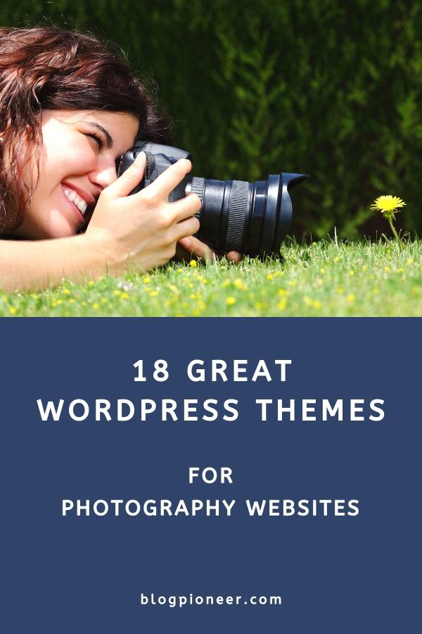 18 Great photography WordPress themes
