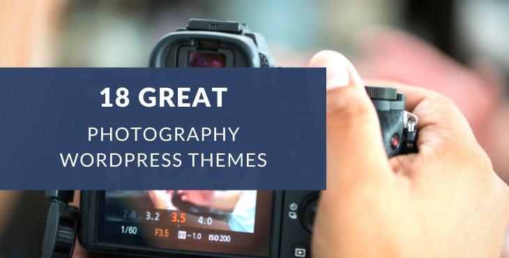 Best photography WordPress themes
