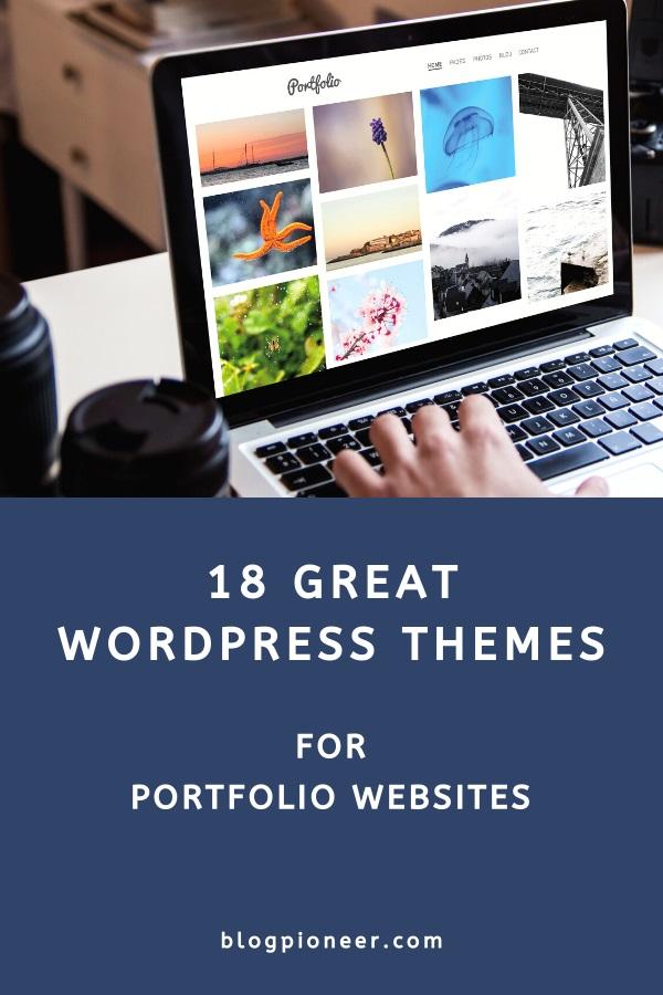 18 Great portfolio WordPress themes