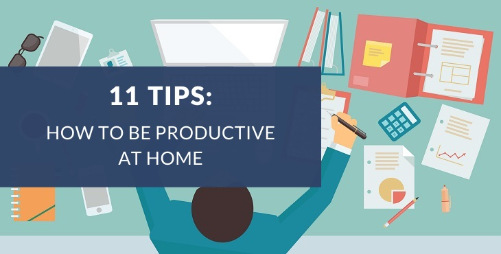 How to stay productive when working from home
