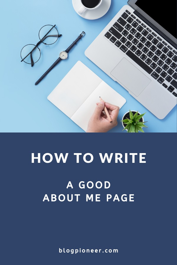 How to write an about me page