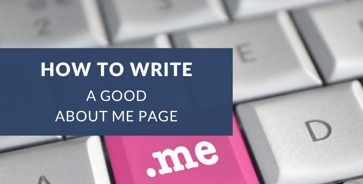 How to write a good About Me page + examples