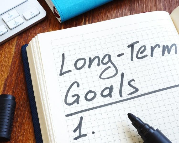 Setting up blog goals